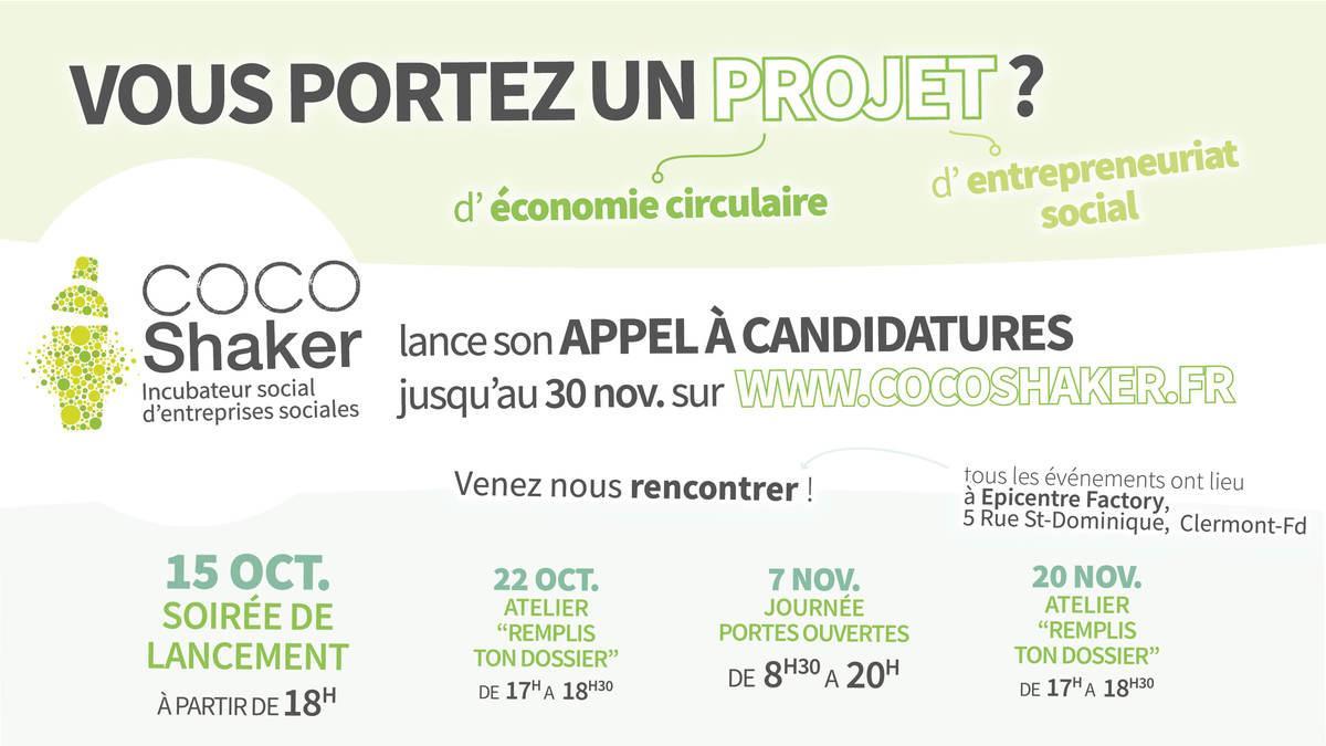 CoCoShaker et le VALTOM lancent un appel aux porteurs de projets en économie circulaire !