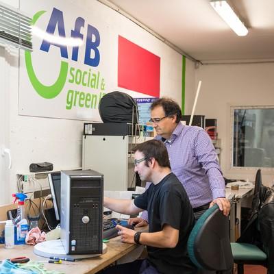 AfB France : une 2ème vie pour le matériel informatique