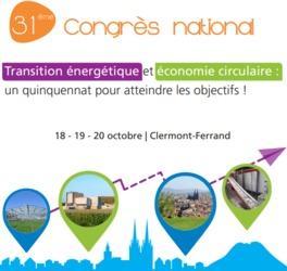 31ème congrès national AMORCE à Clermont-Ferrand