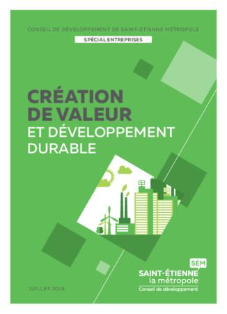 Création de valeur et développement durable