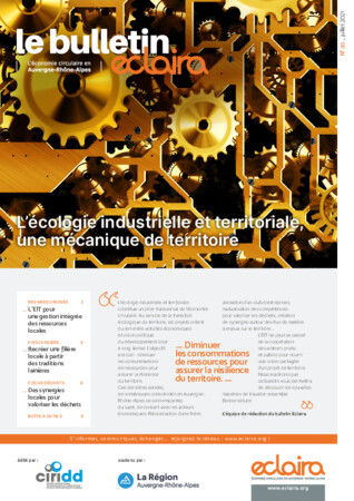 ECLAIRA, le bulletin - Numéro 20 - L'écologie industrielle et territoriale, une mécanique de territoire