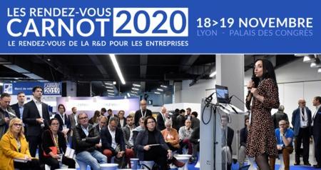 R&D / innovation / entreprises : Les Rendez-vous Carnot 2020