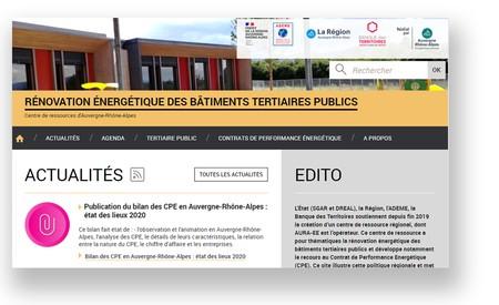 En ligne : le centre de ressources régional pour la rénovation énergétique des bâtiments tertiaires publics