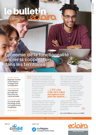 ECLAIRA, le bulletin - Numéro 19 - Économie de la fonctionnalité, avril 2021