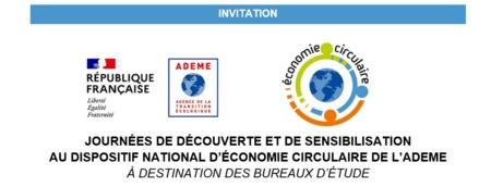 Journées de découverte du référentiel économie circulaire de l'ADEME (pour les bureaux d'étude)
