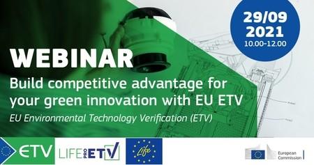 Webinaire européen sur le dispositif ETV