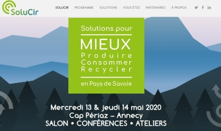 Naturopole3D exposera au prochain salon Solucir à Annecy les 13 et 14 mai 2020