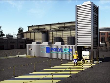 Polyloop : l'unité de recyclage clé en main qui régénère les PVC composites.