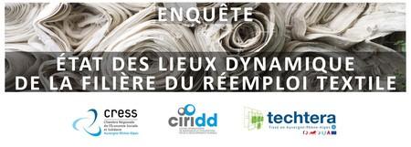 Répondez à la grande enquête sur le réemploi du textile en Auvergne Rhône-Alpes