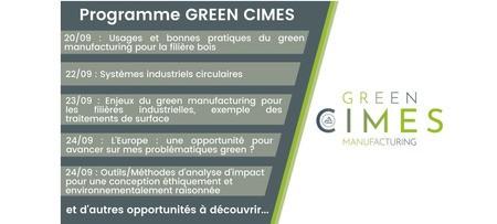 CIMES : Semaine du Green Manufacturing du 20 au 25 septembre 2021