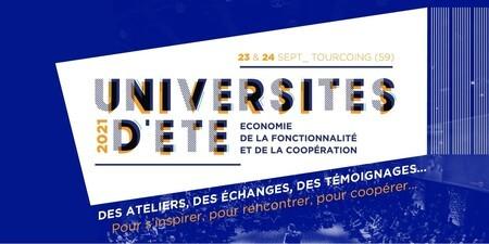 Université d'été de l'économie de la fonctionnalité et de la coopération !