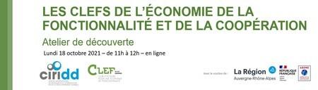 Les CLEFs de l'économie de la fonctionnalité - atelier découverte de l'EFC le 18 octobre à 11h