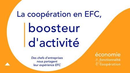La coopération en EFC, boosteur d'activité