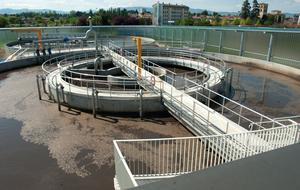 Energy production from a wastewater treatment plant