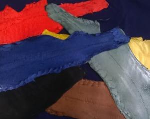 La valorisation des déchets de cuir de carpe pour réaliser de nouveaux produits