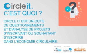 CIRCLE IT... A tool to help you build your circular economy projects.
