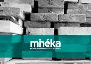 Minéka: Des matériaux de construction à (ré) utiliser