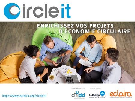 CIRCLE IT, l'outil d'aide à la décision pour les porteurs de projets en économie circulaire, évolue !