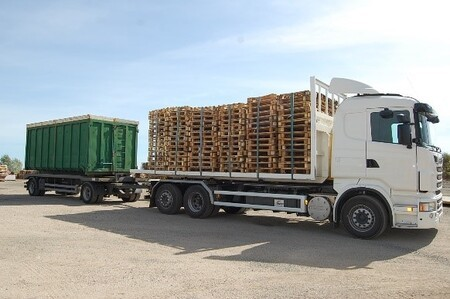 Patrie: Valorisation du bois en utilisant les palettes